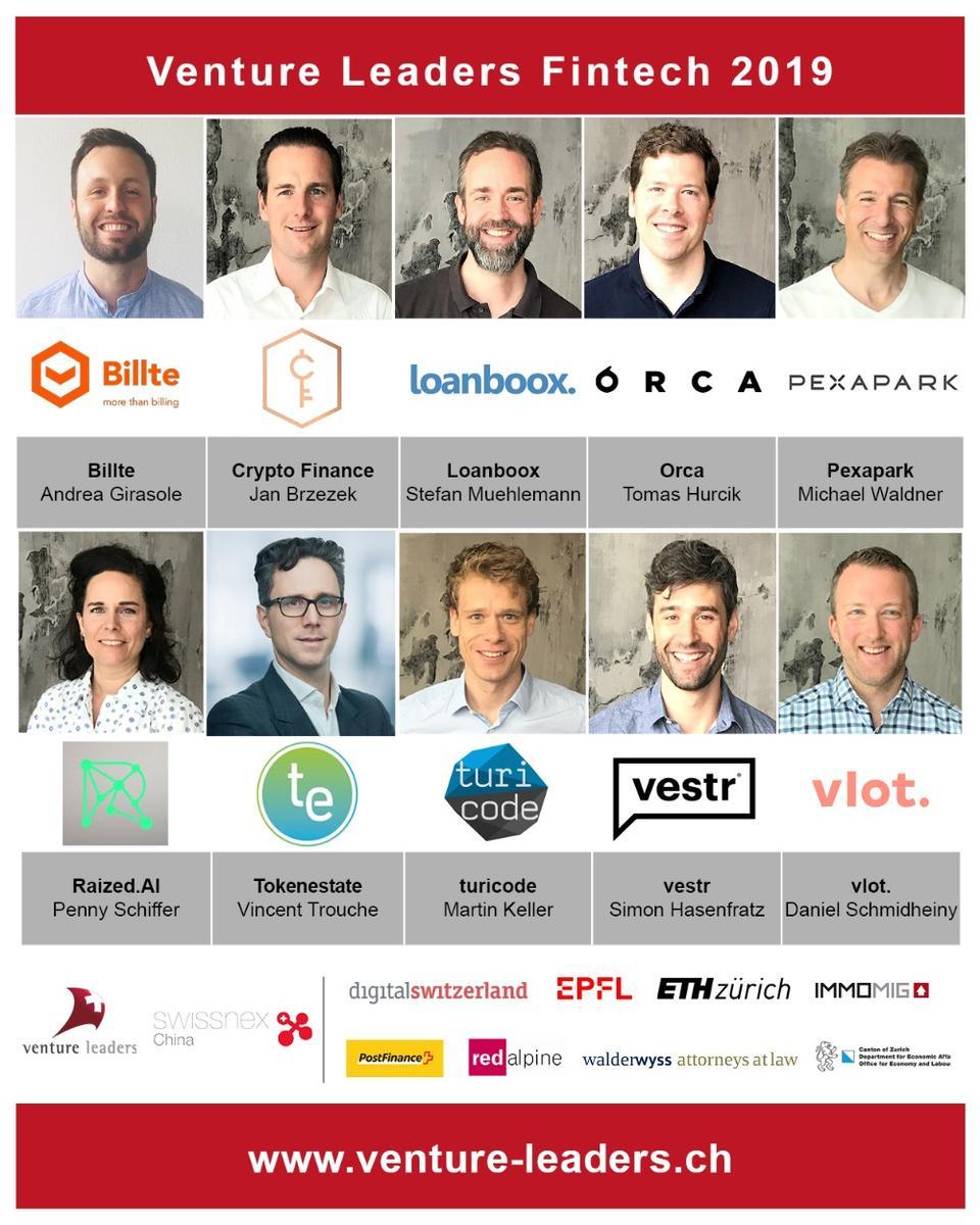 Venture Leaders Fintech 2019